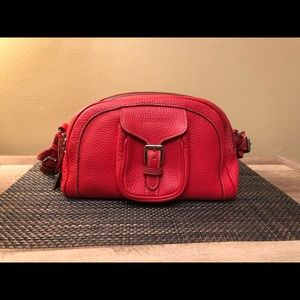 RARE Dooney & Bourke Italian Leather Small Duffel
